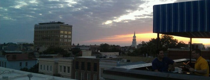 The Rooftop Bar at Vendue is one of Charleston, SC #visitUS.