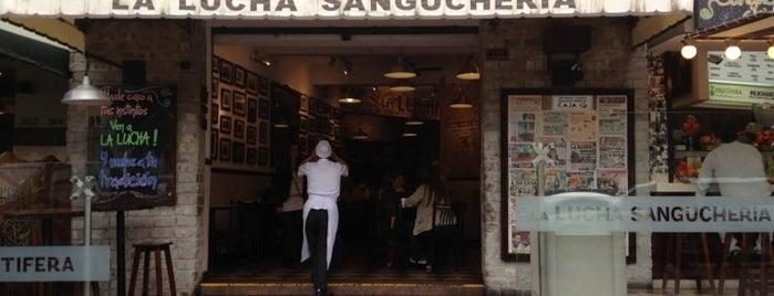 La Lucha Sanguchería Criolla is one of Hamburguesas en Lima!.