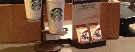 Starbucks is one of He estado aqui.