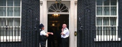 10 Downing St. is one of London City Badge - London Calling.