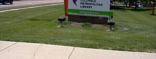 Columbus Metropolitan Library - Hilliard Branch is one of Cbus to do list.