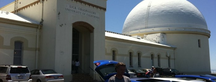 Lick Observatory is one of Things to do at Apple.