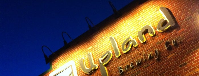 Upland Brewing Company Brew Pub is one of Places to eat in INDY.