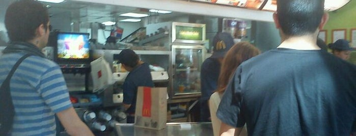 McDonald's is one of Horas Libres.