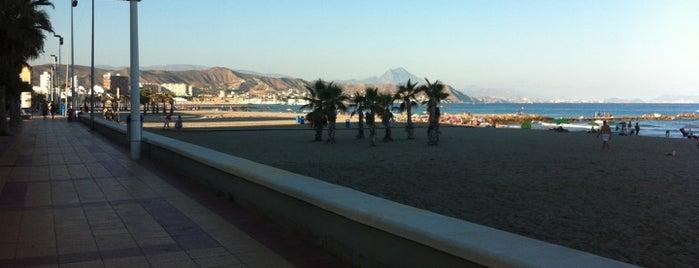 Paseo Marítimo de El Campello is one of Alicante urban treasures.
