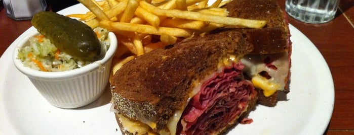 Reuben's Restaurant Delicatessen is one of DEUCE44 III.