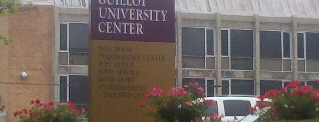 Guillot University Center is one of Food in The Shoals Area.