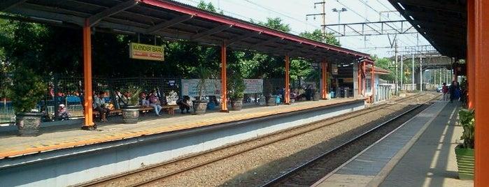 Stasiun Klender Baru is one of rdt only.