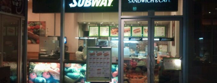 SUBWAY 栄ブロッサ店 is one of SUBWAY中部 for Sandwich Places.