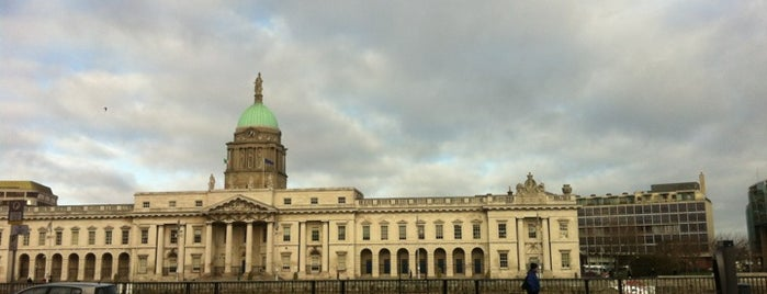 The Custom House is one of Dublin Tourist Guide.