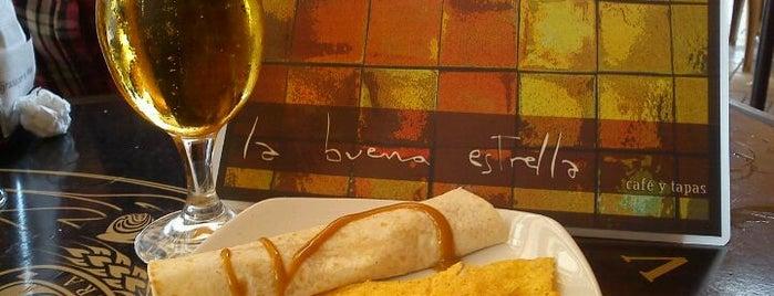 La Buena Estrella is one of Tapas en Granada / Best tapas in Granada.