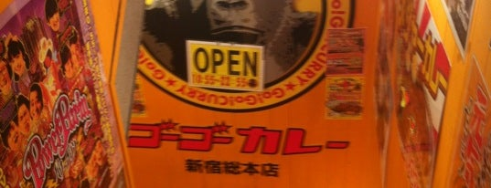 Go Go Curry is one of the 本店.