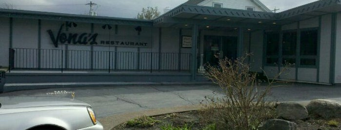 Vonas Restaurant is one of Best places in Oswego, NY.
