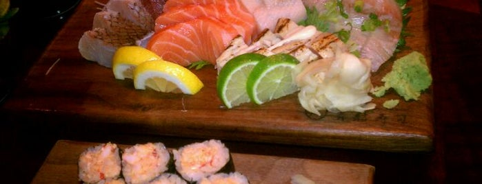 Blue Ribbon Sushi Bar & Grill is one of The Restaurant Collection at The Cosmopolitan.