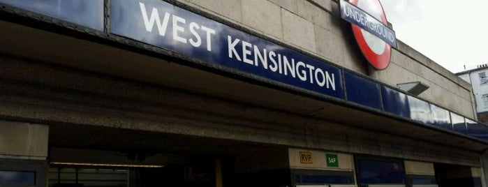 West Kensington London Underground Station is one of Zone 1 Tube Challenge.