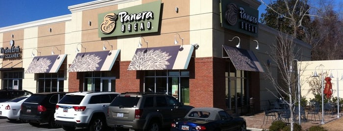 Panera Bread is one of my charleston places.