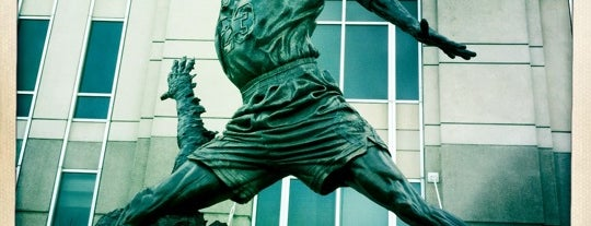 Michael Jordan Statue is one of Traveling Chicago.