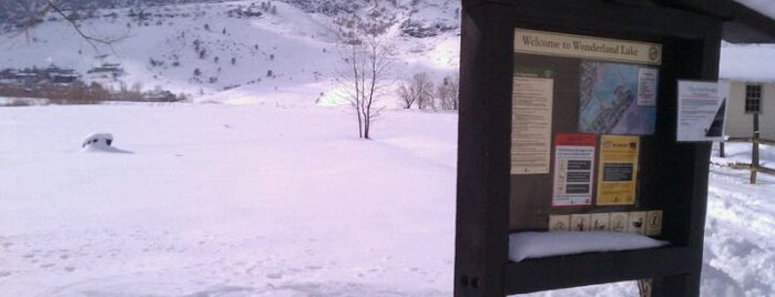 Wonderland Trailhead is one of Boulder Area Trailheads #visitUS.