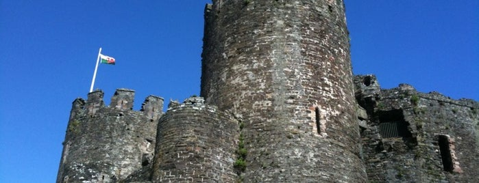Conwy Castle is one of Historic Castles of North Wales.