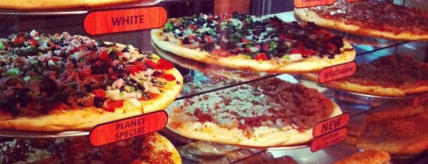 Planet Pizza is one of Favorites.