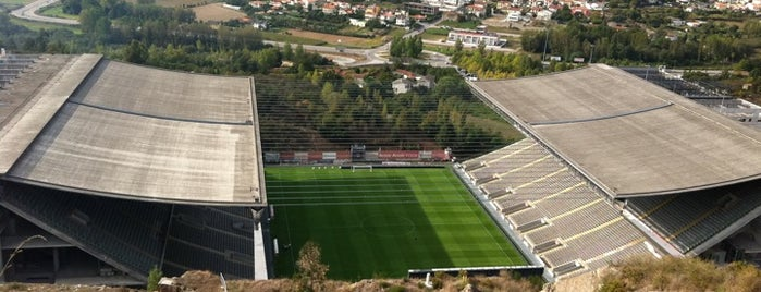 Estádio Municipal de Braga (AXA) is one of UEFA European Championship finals.