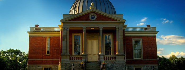 Cincinnati Observatory Center is one of Cincinnati for Out-of-Towners #VisitUS.