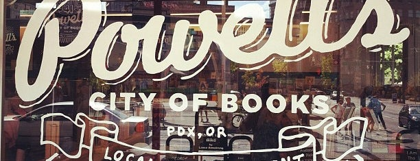 Powell's City of Books is one of Check-In.