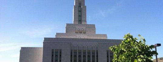 Draper Utah Temple is one of Utah LDS (Mormon) Temples.