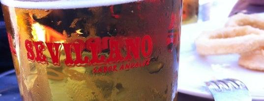 El Sevillano is one of los mejores sitios para comer en Alicante.
