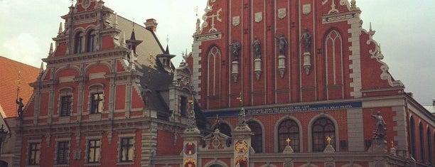 Melngalvju Nams / House of Blackheads is one of Unveil Riga : Atklāj Rīgu : Открой Ригу.