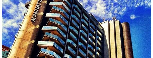 Manhattan Plaza Hotel is one of Melhores Hoteis da Capital do Brasil.