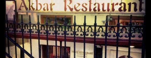 Akbar Restaurant is one of Food near UB.