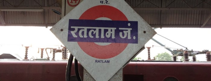 Ratlam Station is one of Train station.