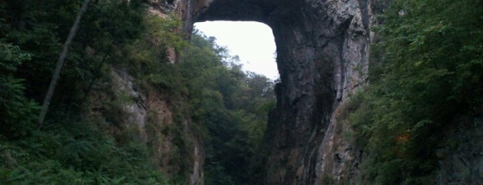 The Natural Bridge is one of Favorites.