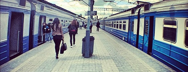 Ярославский вокзал / Yaroslavsky Rail Terminal is one of Бейдж Trainspotter.
