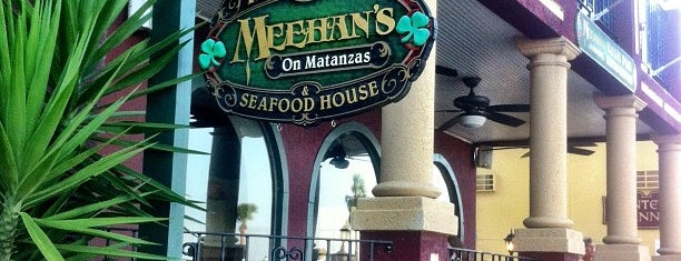 Meehan's Irish Pub is one of My St. Augustine Favorites.