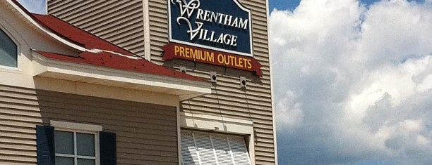 Wrentham Village Premium Outlets is one of Blueberries.