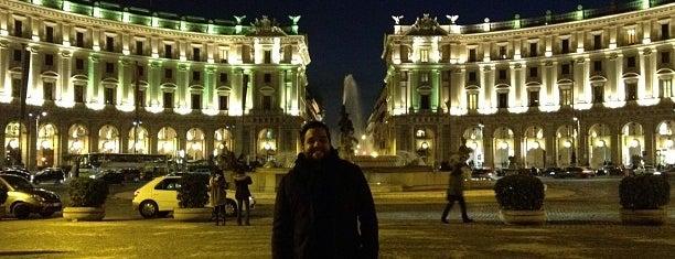 Piazza della Repubblica is one of La Dolce Vita - Roma #4sqcities.
