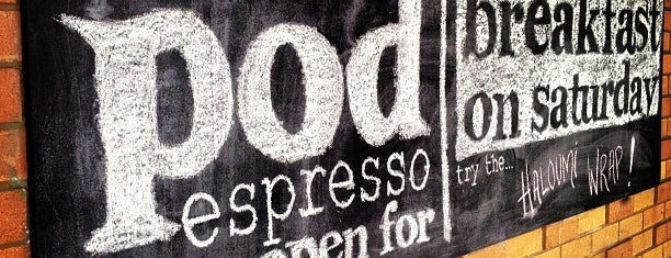 Pod Espresso is one of Best Cafes in Brisbane.