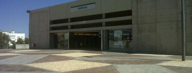 METRO Cocheras is one of Metro de Sevilla - Línea 1.