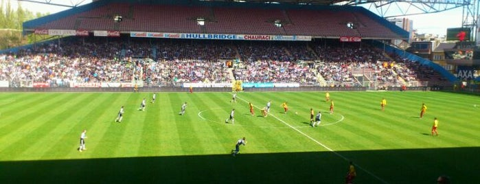 Stade du Pays de Charleroi is one of Jupiler Pro League and Belgacom League - 2013-2014.