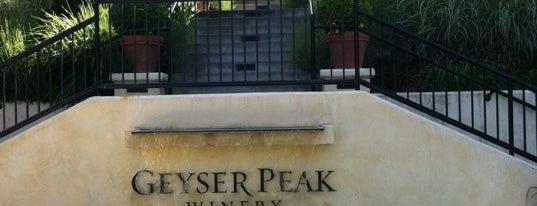 Geyser Peak Winery is one of Wine Road Picnicking- al Fresco Perfetto!.