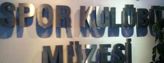 Fenerbahçe Spor Kulübü Müzesi is one of İstanbul'daki Müzeler (Museums of Istanbul).