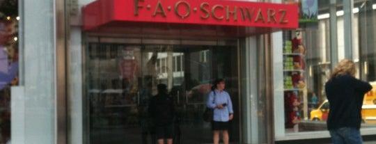 FAO Schwarz is one of Ultimate NYC Nerd List.
