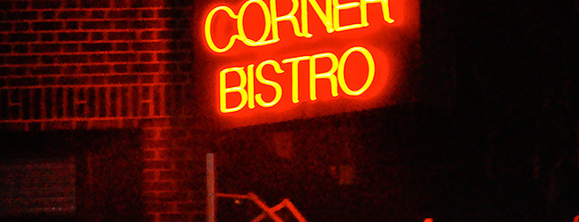 Corner Bistro is one of NY Eats.
