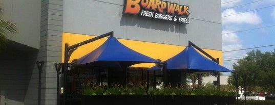 Boardwalk Fresh Burgers & Fries is one of Favorites.