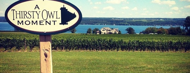 Thirsty Owl Wine Company is one of New York State Wineries.