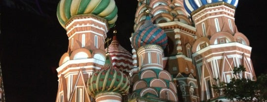 St. Basil's Cathedral is one of Dream Destinations.
