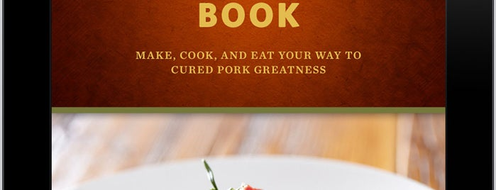 "The Meat Hook is one of Featured in ""The Better Bacon Book""."