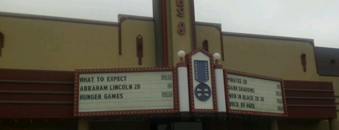 Cinemark Movies 8 is one of Greenwood.